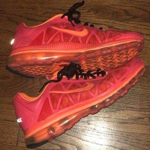Nike Airmax 2011 Total Orange Size 13